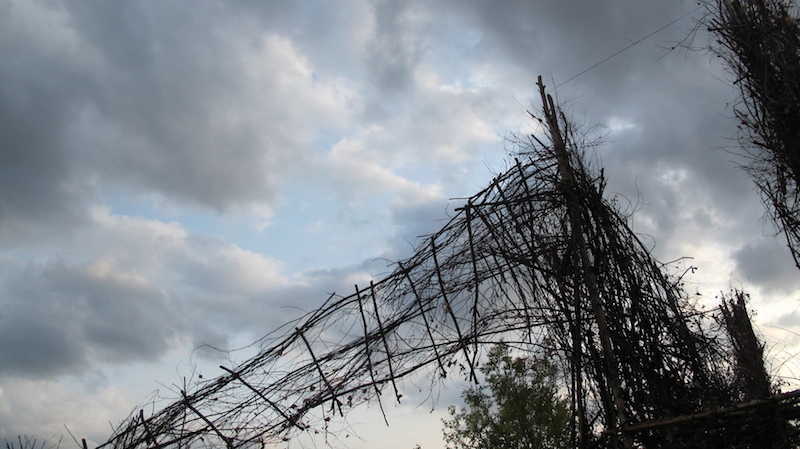 The suspension bridge in the cloud / Foto: Heidi Etzbach
