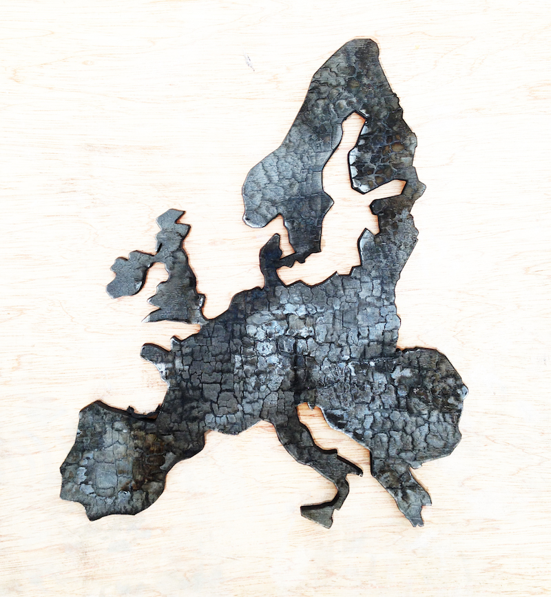 Shou-sugi-ban Europa