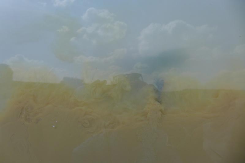 Wolken im Wasser / Foto: Winfried Junker-Schönfelder