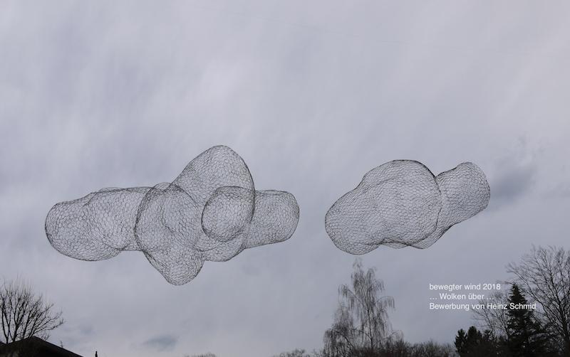 ... Wolken über ...