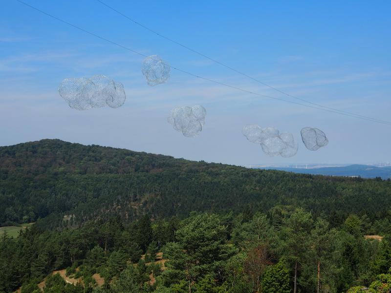 ... Wolken über ... / Foto: Gabriele Nippel