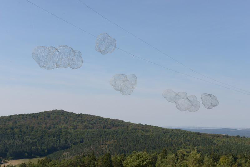 ... Wolken über ... / Foto: Joachim Römer
