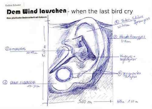 Dem Wind lauschen, when the last bird cry