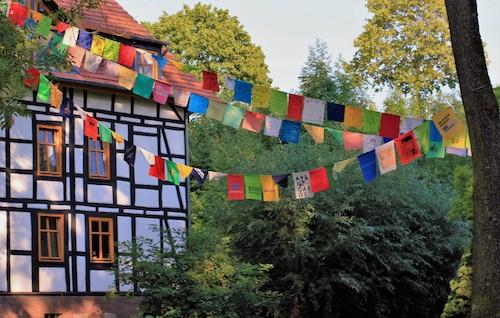 Wunschfahnen: Gebetsfahnen / Foto: Heidi Preiß