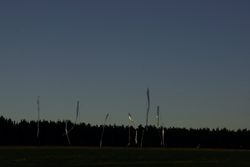 Silberstreifen am Horizont: Foto: Monika Steiner