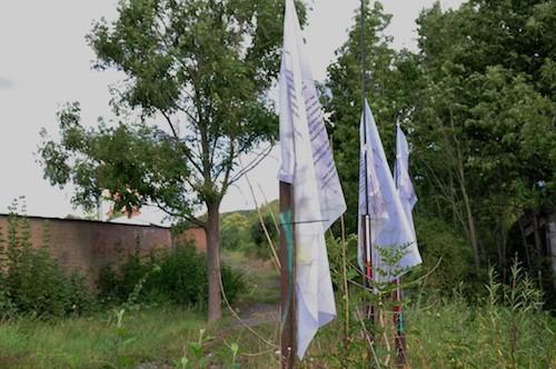 wenn der wind die zäune verzerren möchte I-IV / Foto: Wigand Bürgener